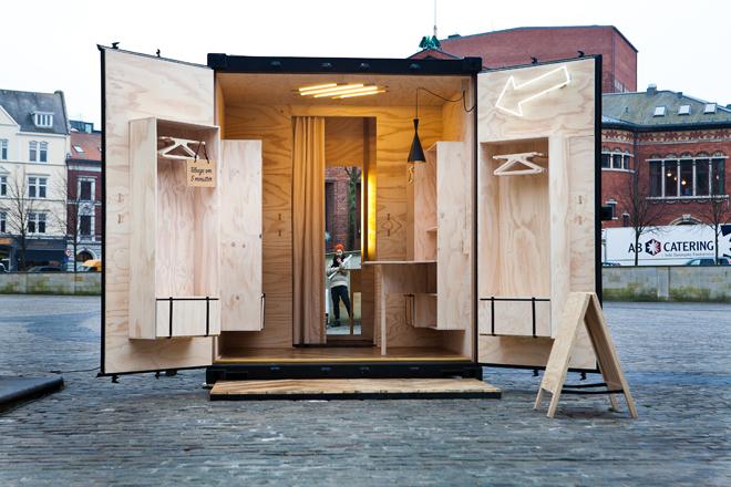 bd bruuns bazaar pop up kiosk. Black Bedroom Furniture Sets. Home Design Ideas
